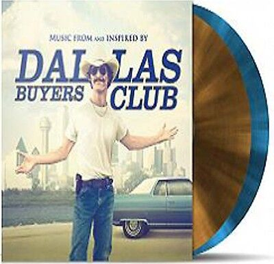 Dallas Buyers Club Soundtrack OST Limited Edition Gold / Blue 2 X Vinyl LP New