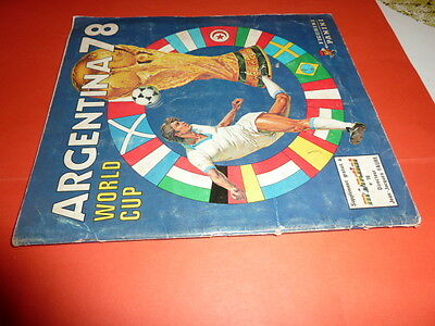 Album Panini Football Wc Argentina 78 1978 Complet Good Condition No Written