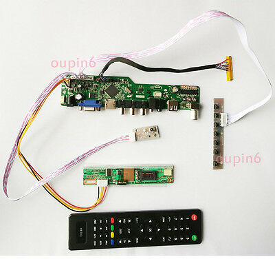 TV+HDMI+VGA+USB LCD screen Controller Board kit for LP156WH4(TL)(A1)/(TL)(N1)