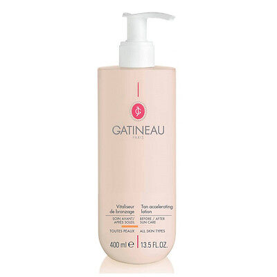 2 x Gatineau Supersize Tan Accelerating Lotion (400ml) RRP £46 each