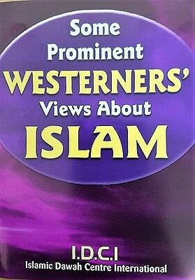 Dawah Publications Offer - Prominent Westerners Views About Islam (200 Booklets)