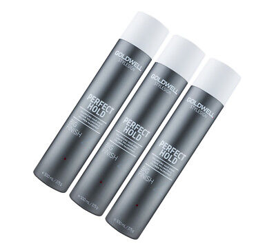 3X Goldwell Perfect Hold Big Finish Haarlack Volumen 500 Ml
