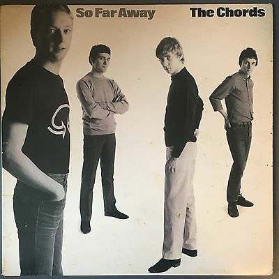 "The Chords - So Far Away - Original Vinyl 12"" LP 1980 POLS 1019"