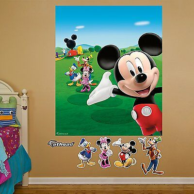 FATHEAD Mickey Mouse Clubhouse Mural Graphic Wall Décor