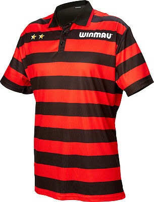 "Winmau Dennis ""The Menace"" Priestley Wincool Dart Shirt Short Sleeve Top S-4XL"
