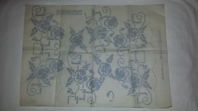 Vintage Embroidery Transfer Pattern - Pins and Needles exclusive design