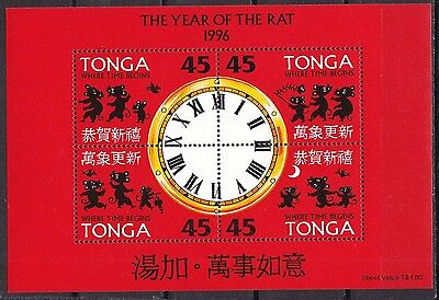 T18024 Tonga Block 26 postfr./mnh Jahr der Ratte year of the rat