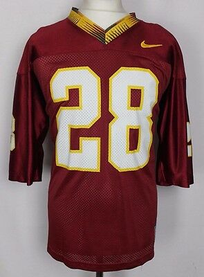 #28 Florida State Seminoles Nike American Football Jersey Mens Medium Rare