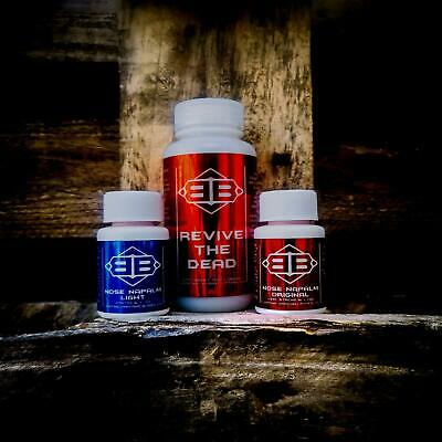 Nose Napalm - like smelling salts/nose tork but stronger! Strongman/powerlifting