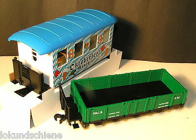 2 Fleischmann Magic Train 0e Wagen 2414 + 2320 Neu OVP#L197