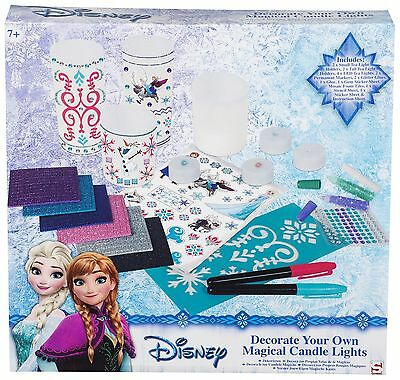 Official Disney Frozen Decorate Your Own Magical Candle Lights *NEW*