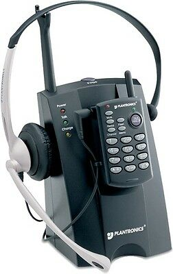 Plantronics CT10 Cordless Headset Telephone System (A)