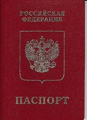 Expired Russian Federation Travel Document  Passport  Reisepass Id
