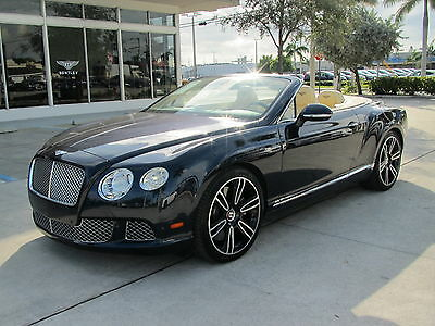 2014 Bentley Continental GT GTC SPEED W12 CONVERTIBLE AWD 2014 14 BENTLEY GTC SPEED W12 CONVERTIBLE * CERTIFIED WARRANTY * 2-TONE WHEELS *