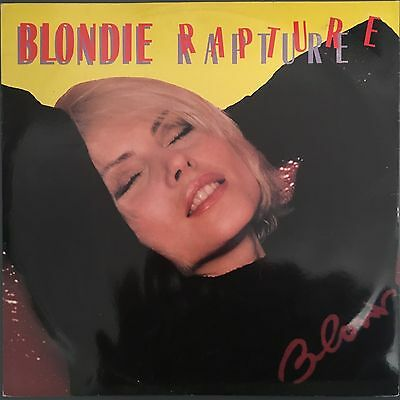 "Blondie - Rapture - Original Vinyl 12"" EP 1981 CHS 12 2485"