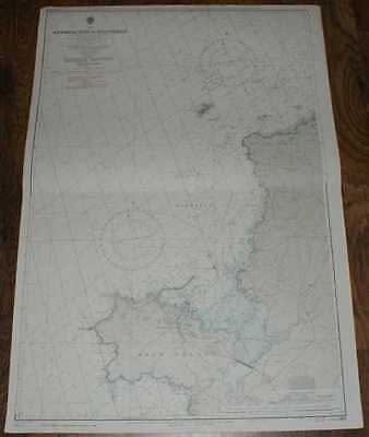 Nautical Chart No. L(D3)1413 Wales - Approaches to Holyhead 1972