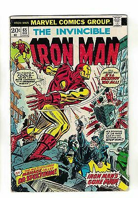 "Iron Man Vol. 1 - #65 | ""The Cutting Edge of Death!"" 