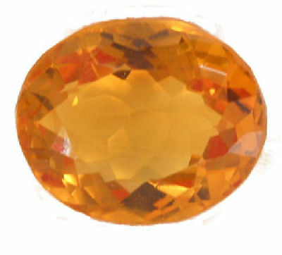 Very Nice Golden Yellow Oval Cut Citrine 10.81 Carats