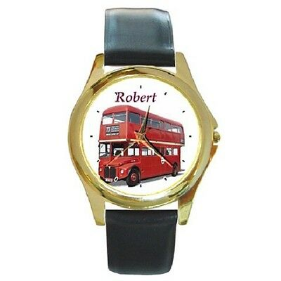Red Doubledecker Customised London Bus Repro Wristwatch **great Gift Item***