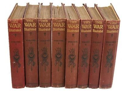 War Illustrated Album Deluxe - World War 1 Ww1 - Complete 10 Full Volumes On Dvd