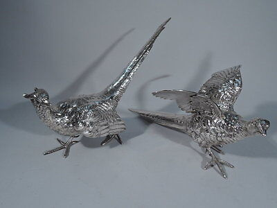 Marshall Field Birds - Pheasants Pheasant Game Bird - American Sterling Silver