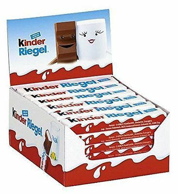 Kinder Chocolate Snack Bar 21 g Pack of 36