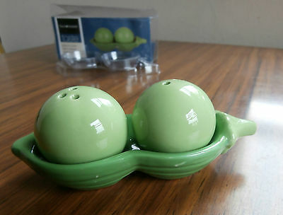 Two Peas In A Pod China Novelty Salt & Pepper Shakers