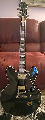 Epiphone BB King Lucille 2013 VGC with case
