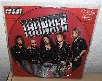 """Thunder 12"""" Picture Disc """"backstreet Symphony"""" 1990 Uk An Englishman On Holiday"""