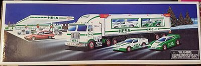 Hess Toy Truck and Racers 1997 NIB
