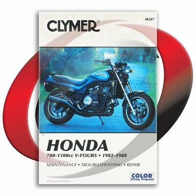 1984-1985 Honda VF700S SABRE Repair Manual Clymer M327 Service Shop Garage