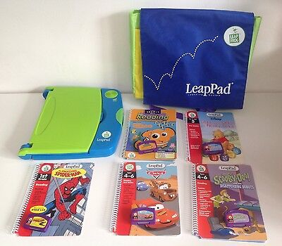 LeapFrog LeapPad Learning System 5 X Reading Activity Books 4-5 Years Bundle