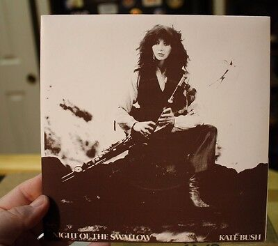 """Kate Bush Night Of The Swallow 7"""" Irish only release Rare 1st issue card sleeve"""