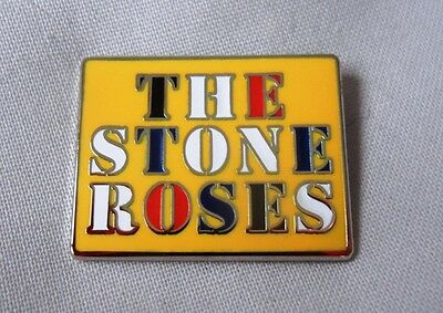 Stone Roses 2016 enamel badge. Casual Connoisseur,Ultras,Hooligan,Firm,Football.
