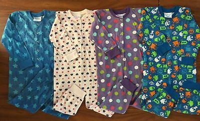 Brand New Boys & Girls Onsie / All In One Pjs Pajamas Pyjamas * Sizes  3 4 5 6