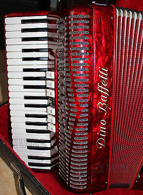 FISARMONICA DINO BAFFETTI 3/5 120 bassi accordion accordeon Akkordeon