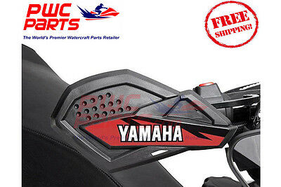 YAMAHA SR Viper Hand Guards OEM Red NEW Snowmobile SMA-8JPHG-00-RD