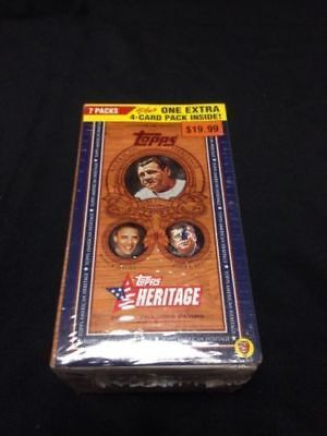 TOPPS Trading Heritage Cards Box American Heritage 60 cards per box Obama (G26)