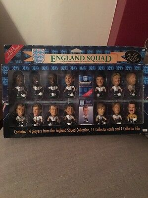 Corinthian PROSTARS HEADLINERS 1996 ENGLAND SQUAD Whole Team RARE 14 PACK E62