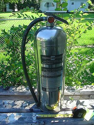 American LaFrance Water Fire Extinguisher Model PWA-61 Stainless Steel Class A