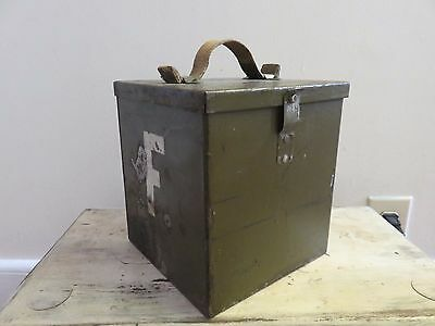Military WWII (?) Amplifier Tube Kit in Metal Case