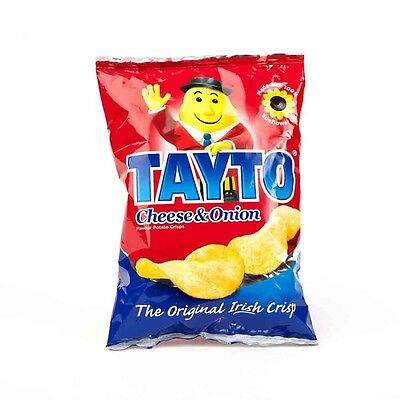Tayto Crisps Irish Crisps Cheese & Onion 20x25g**CHEAPEST on EBAY!
