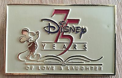 75 Years of Love and Laughter Mickey LE 500 Disney Pin