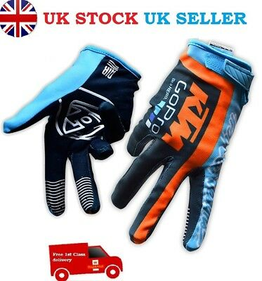 FOX, TLD, KTM Go Pro Motocross GLOVES!!! Enduro, ATV Downhill, Free P&P