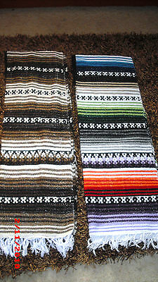 Imported Genuine Mexican Blanket Poncho Clint Eastwood