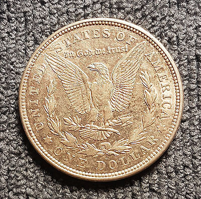 1921-D United States Morgan Silver Dollar Coin
