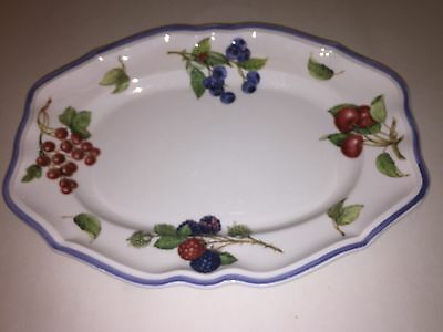 "Villeroy & Boch COTTAGE 11 3/8"" Oval Serving Platter 3940345"