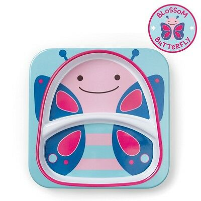 SKIP HOP Zoo Divided Plate in Butterfly