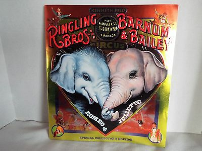 Ringling Bros and Barnum & Baily Special Collector ' s Circus Program / Magazine
