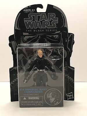 NEW! Star Wars The Black Series Imperial Navy Commander 3.75 Inch Action Figure